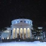 Ateneul Roman, iarna