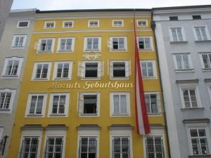 Casa natala a lui Mozard, Salzburg