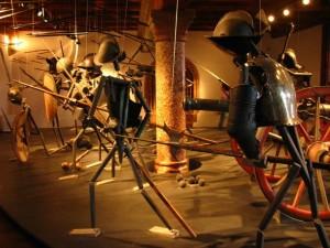 Scena de razboi din Muzeul Armelor, Hohensalzburg
